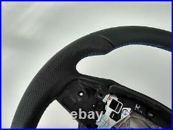 Bmw 5 F07 F10 7 F01 New Nappa Ergonomic Inlays Heated Flat Bottom Shift/vibro