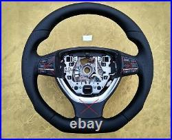Bmw F07 F10 F01 M Sport New Nappa Leather Ergonomic Inlays Flat Bottom Thick
