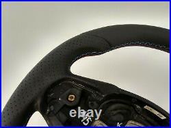 Bmw F20 F30 New Nappa Ergonomic Inlays Steering Wheel Flat Bottom Thick&heavy