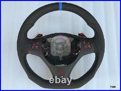 Bmw M-tech 1/3/x E82/87/90/92/84 New Nappa Ergonomic Inlays Shift Sw Flat Bottom