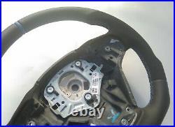 Bmw X3 F25 X4 F26 X5 F15 X6 F16 Nappa Ergonomic Inlays Heated Vibro Flat Bottom
