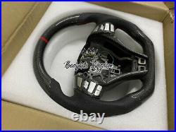 Carbon fiber steering wheel nissan navara np300 bar flare wide wild led seal off