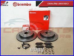 For Range Rover Sport 3.0 3.6 Sdv6 Tdv6 Tdv8 5.0 Rear Brembo Brake Discs Pads