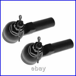 Front 12 Piece Steering & Suspension Kit Control Arms Sway Links Hubs Tie Rods