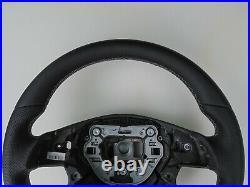 MERCEDES AMG ML GL G W212 W166 W463 new NAPPA LEATHER SW GRAY STITCH / THICK