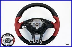 MERCEDES C W204 SLK R172 CLS W218 E W212 NAPPA LEATHER BLACK stitch AMG/SPORT