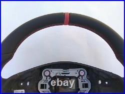 MERCEDES C W204 SLK R172 CLS W218 E W212 NAPPA LEATHER RED mark/stitch AMG/SPORT