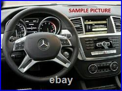 MERCEDES ML GL G W212 W166 W463 SW BUTTON TRIM PANEL COVER chrome withswitches