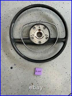 Mercedes Benz W108 W109 Steering Wheel & Horn Bar Black #200