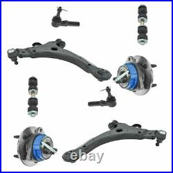 Steering & Suspension 8 Piece Front Kit Set for Chevy Pontiac