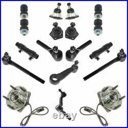 Steering & Suspension Kit Ball Joint idler Pitman Arm Tie Rod Adjusting Sleeve