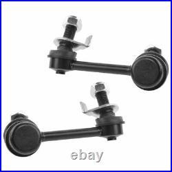 TRQ 10 pc Steering & Suspension Kit Control Arms Wheel Bearings Tie Rods New