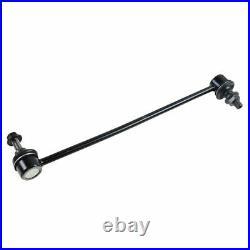 TRQ 8 pc Steering & Suspension Kit Ball Joints Tie Rods Wheel Bearings End Links