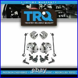 TRQ Steering Suspension Kit Front Driver Passenger Set of 8 for Toyota Lexus New