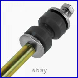 TRQ Wheel Hub Assembly Ball joint Sway Bar Link Tie Rod Front Kit for Mustang