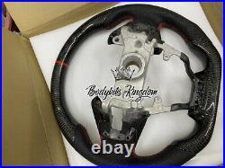 Type r FC FK Civic carbon fiber steering wheel bar bumper led lip kit spoiler