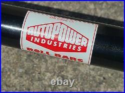 Vintage Roll Bar Datsun 240Z, 260Z, 280Z, S30 Autopower Industries Nissan Sweet