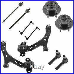 Wheel Hub Bearing Control Arm Ball Joint Tie Rod Sway Bar Link for 05-10 Mustang